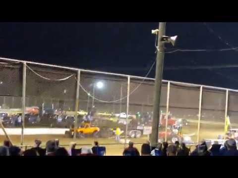 Mercer raceway park truck pulls pt 4