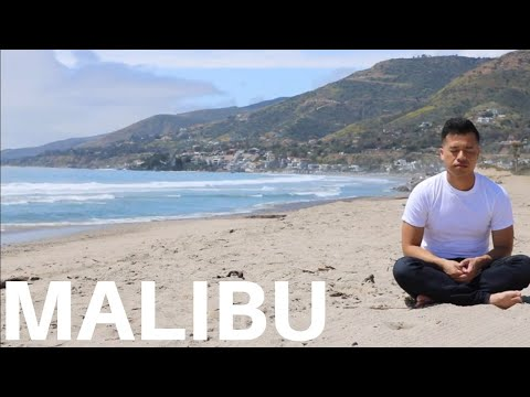 30 Minute Guided Meditation from Malibu, California | Dhammakya Meditation Technique