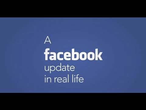 Annoying Facebook status in your real life