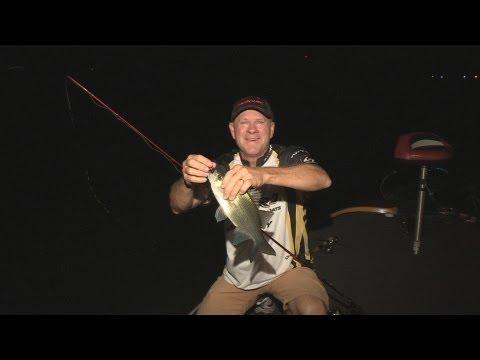 Southwest Outdoors Report #18 Cedar Creek Lake, Texas White Bass Fishing - 2013