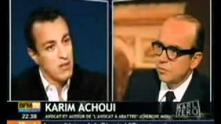 Karim Achoui un avocat sans peur et sans reproche -