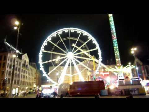 Dam Square, Amsterdam [At Night]