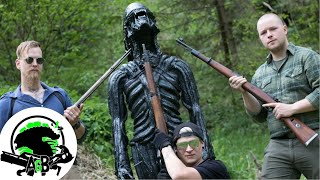 WW2 Rifle Xenomorph Alien Execution! AlienGoBoom