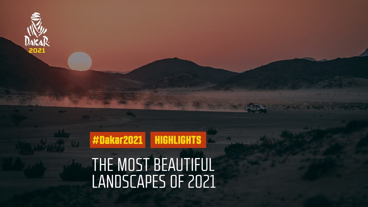 #DAKAR2021 - The most beautiful landscapes of 2021