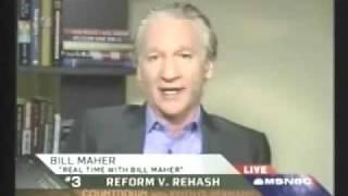 Bill Maher - Obama Should Not be Bi-Partisan