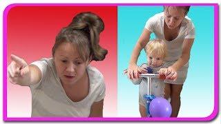 Cum poate fi o mama! Video educativ. Anabella Show