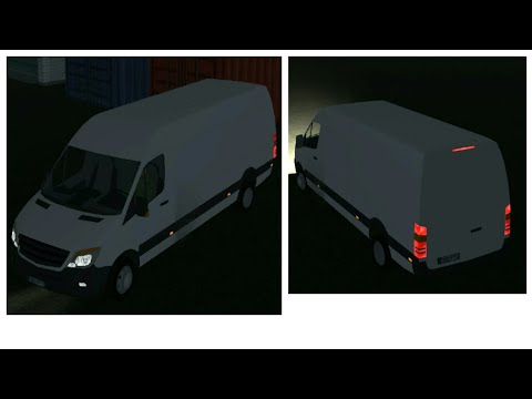 Cargo Transport Simulator - Splinter/ Mercedes-Benz Sprinter, Rio to Amsterdam to Middleburg Android