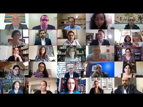 Ceremonia virtual de suscripción del  Convenio de colaboración del circuito Arte y Migración