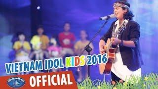 vietnam idol kids - than tuong am nhac nhi 2016 - vong studio - let it be - jayden