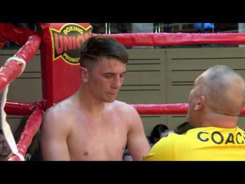 Pro Boxing Show 22/04/2017, Kyiv, UKR. Featherweight Ihor Magurin UKR VS Kerstin Brown, MLT