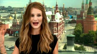 Transformers 3 - Rosie Huntington-Whiteley | interview - on the Transformers movies (2011)