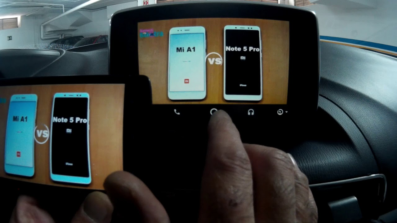 ANDROID AUTO - SCREEN MIRROR MULTITOUCH