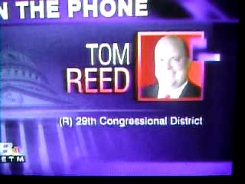 TOM REED the Stupidest Congressman in the House of Representatives