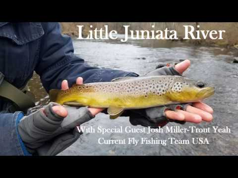 Little Juniata Euronymphing with Josh Miller-Trout Yeah