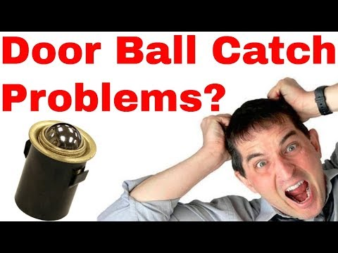 How to fix Closet Door Ball Catch