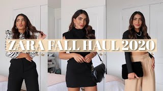 ZARA TRY-ON HAUL | *NEW IN* FALL 2020 | DANYA H