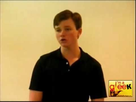 Chris Colfer Glee Audition