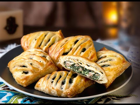 feuilletés-thon-et-épinards-au-kiri-مربعات-التونة-والسبانخ-بجبنة-كيري