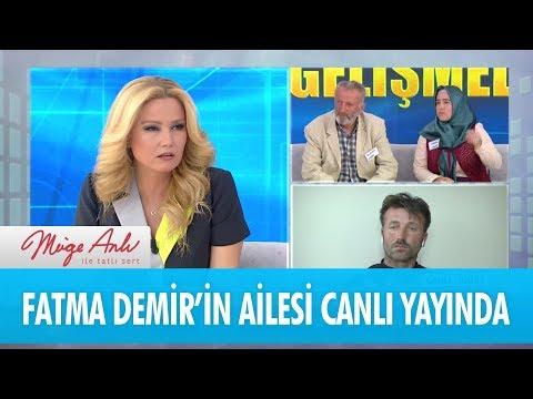 Fatma Demir'in ailesi canlı yayında - Müge Anlı İle Tatlı Sert 20 Nisan 2018