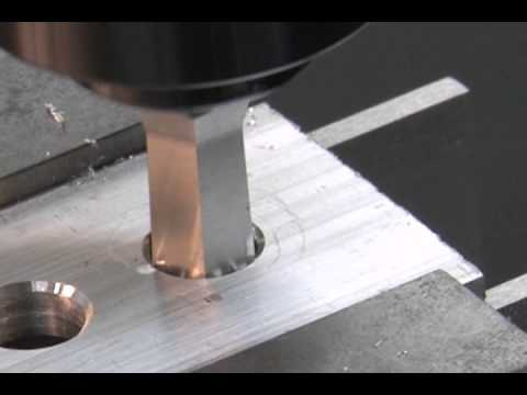 Rotary Broach Form Drill Youtube