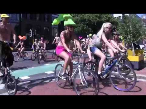 Naked Bike Ride Cape Town March 2015