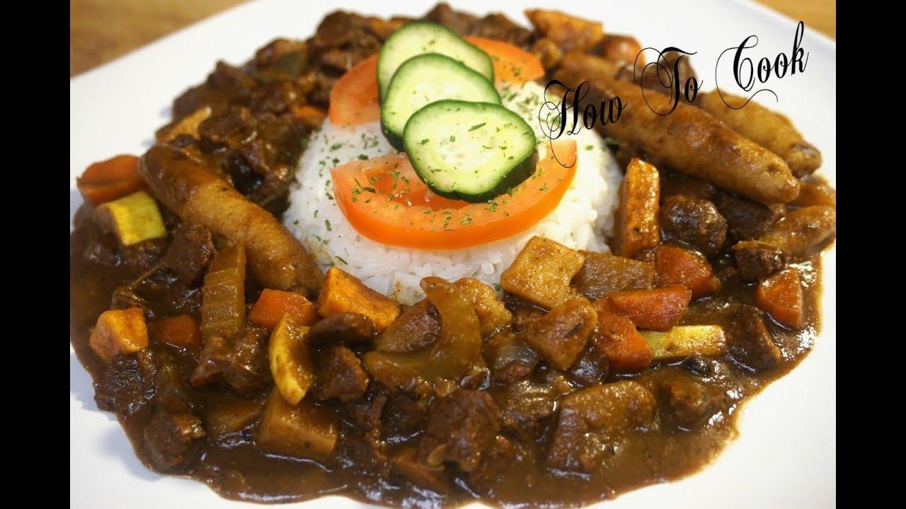 How To Make Jamaican Vegan Vegetarian Chunks Ital Stew Recipe How