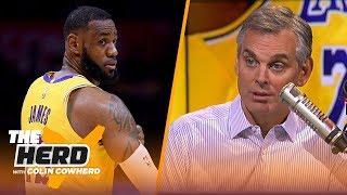 Colin Cowherd reacts to LeBron's return, defends Knicks trading Kristaps Porzingis | NBA | THE HERD