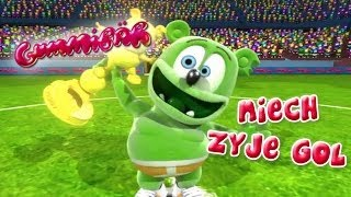 Repeat youtube video Gummibär - Niech Zyje Gol - Polish Version - Go For The Goal