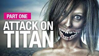 Attack on Titan halloween makeup tutorial part 1