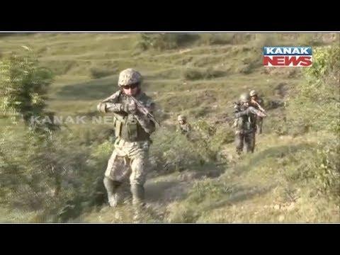 India and Kazakhstan joint army exercise at pithoragarh uttarakhand