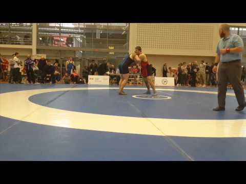 2015 Senior Greco-Roman National Championships: 85 kg Kyle Bonk-Dann vs. Will Grieve
