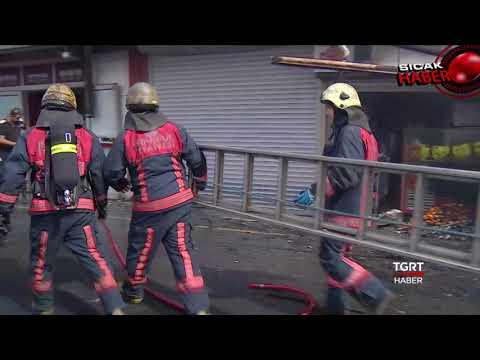 Ataköy-Şirinevler Metrosunda Yangın