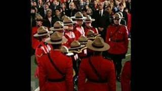 Canadian Forces and Royal Canadian Mounted Police tribute