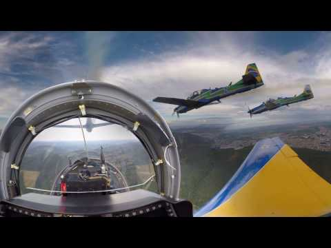 EMBRAER - Super Tucano 360 Video