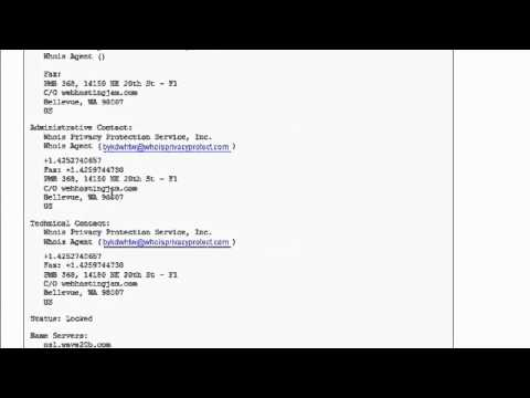 iPage Domain Privacy - How To Hide Your WHOIS Info From the Public
