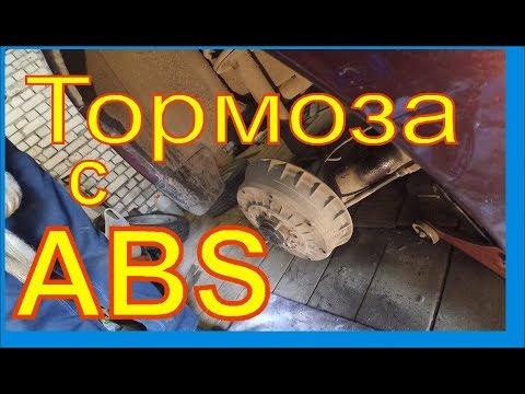 Замена задних тормозных колодок ЛАДА ГРАНТА с ABS