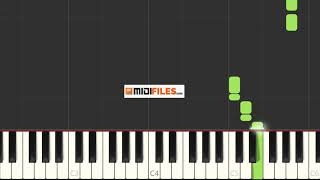 """This video was made with """"synthesia"""" and is an example of what you can do our midi file. else the same file ? - produce your o..."""
