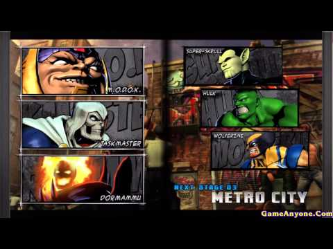 Marvel vs Capcom 3: Fate of Two Worlds MODOK, Taskmaster, Dormammu Pt 12
