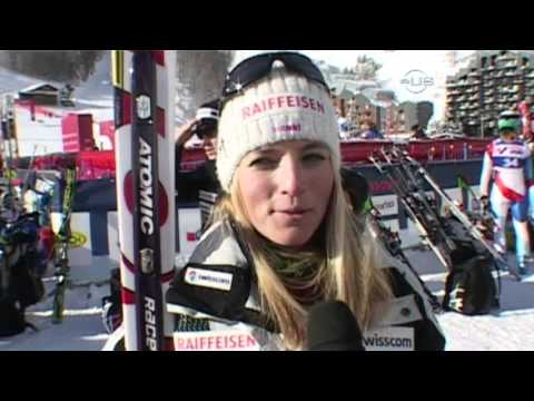 Lara Gut can talk and ski - from Universal Sports