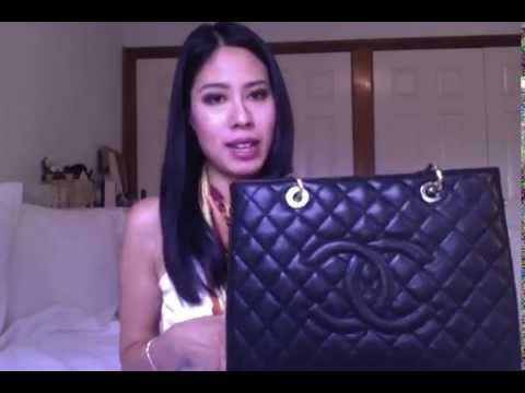 d45d5e46a51b Review of my Chanel Grand Shopping Tote GST!! Pros and cons - YouTube