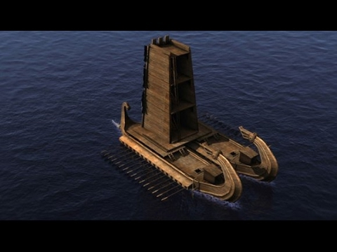 "Ancient Chinese Ships & Boats Documentary | Amazing Wooden Navy Ships ""Floating Fortresses"""