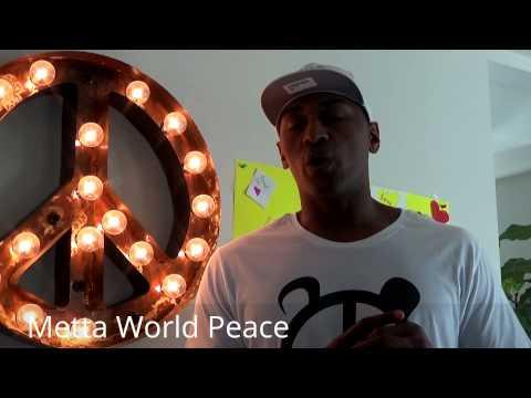 What Did Kobe Bryant Write Metta World Peace? & Talks Kobe vs Lebron esnews