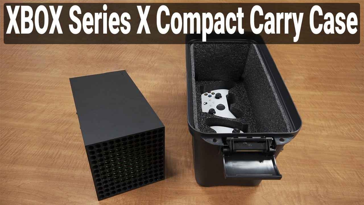 Xbox Series X Compact Carry Case - Video