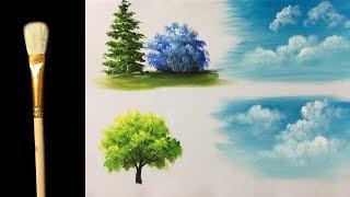 My Cloud Acrylic Brushe - Acrylic lesson