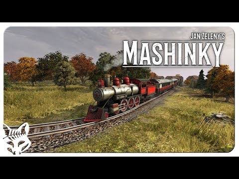 MASHINKY First Look | The Next Railroad Tycoon or OpenTTD? | Mashinky Early Access Gameplay