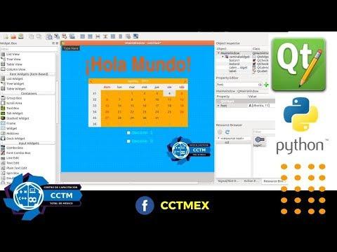 QT Designer para Python: Hacer una ventana e insertar una imagen, P1 (Básico)