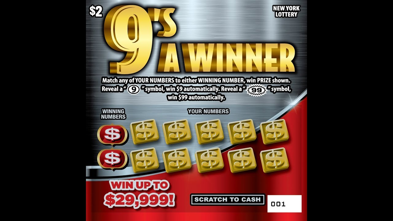 $2 - 9's A WINNER - WIN! Lottery Bengal Scratch Off instant tickets NEW  TICKET TUESDAY WIN!