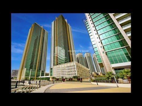 2 + 1 Bedroom Apartment - Type D in Ocean Terrace, Marina Square, Al Reem Island, Abu Dhabi