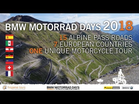 BMW Motorrad Days 2018 and The Alps