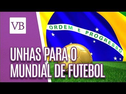 Unhas para o Mundial de Futebol - Você Bonita (06/07/18)